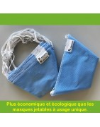 Masques Tissu Uni GEDEAS PROJET RESILIENCE